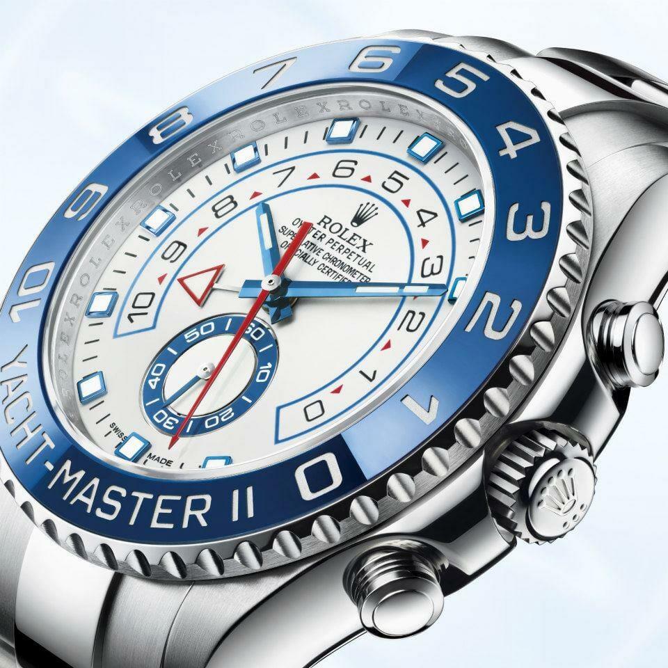 Rolex Yachtmaster II 904L Steel