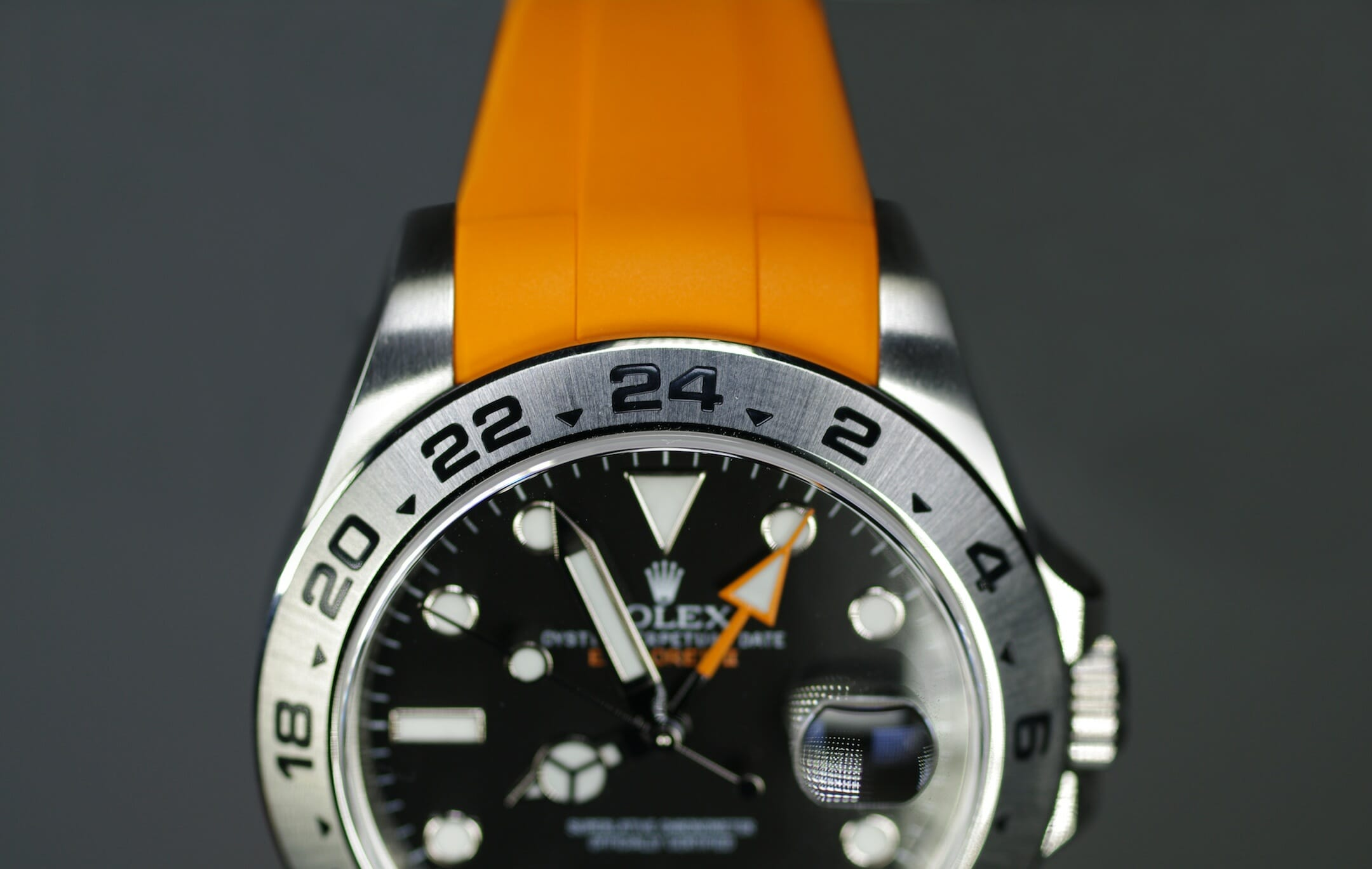 Rolex Explorer Ii 42mm In Your Face Rubber B