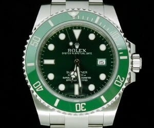 Submariner green hulk lv