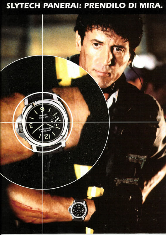 Sylvester Stallone Love Affair With Panerai Watches Rubber B