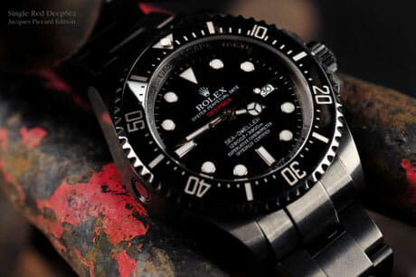 Rolex Deepsea Sea Dweller Limited Edition Jacques Picard