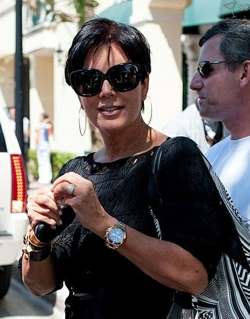 Kris jenner and rolex watches rubber b for Celebrity watches female 2017