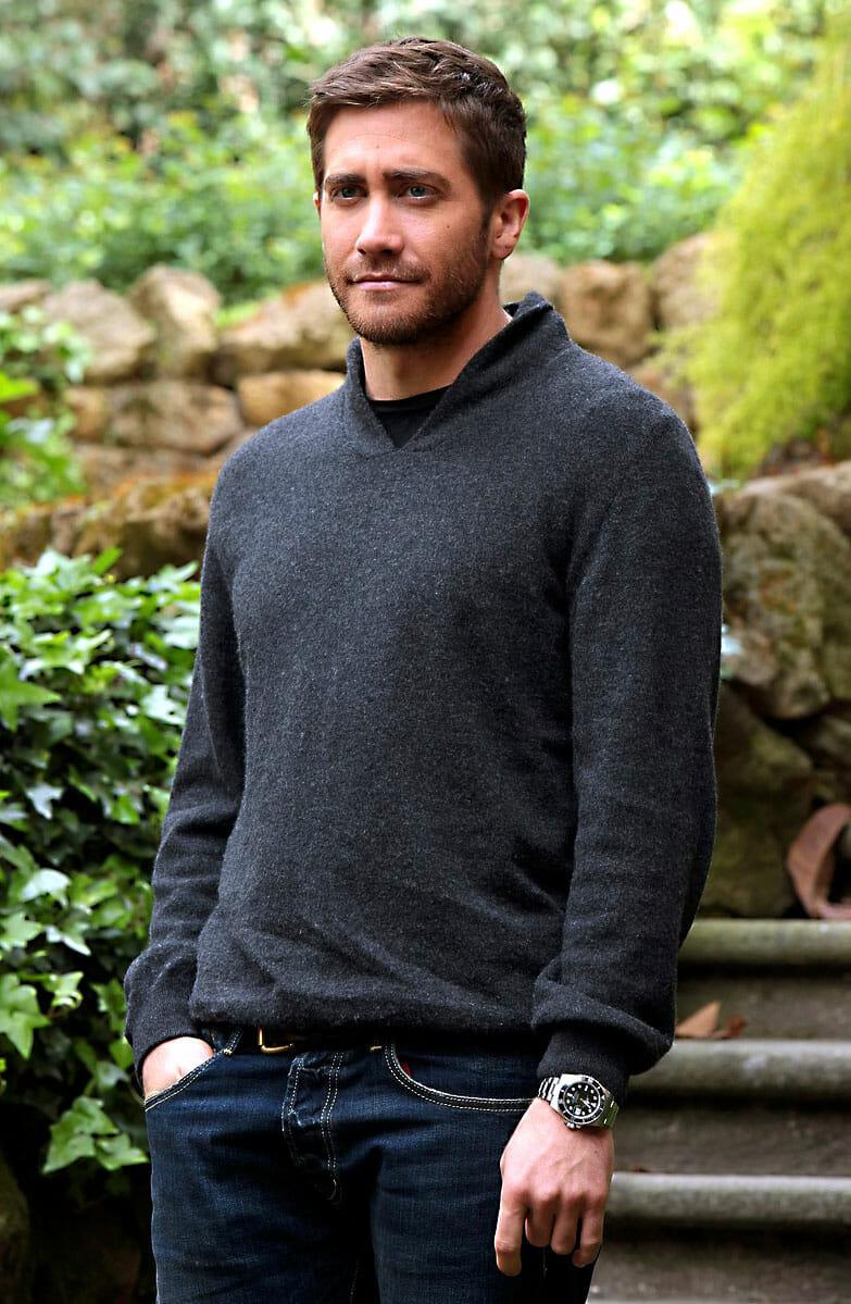 Jake Gyllenhaal Wears A Submariner Rubber B