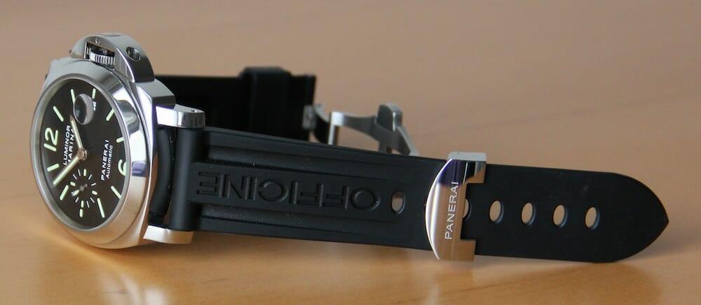 rolex and panerai watch bands revolutionized rubber b