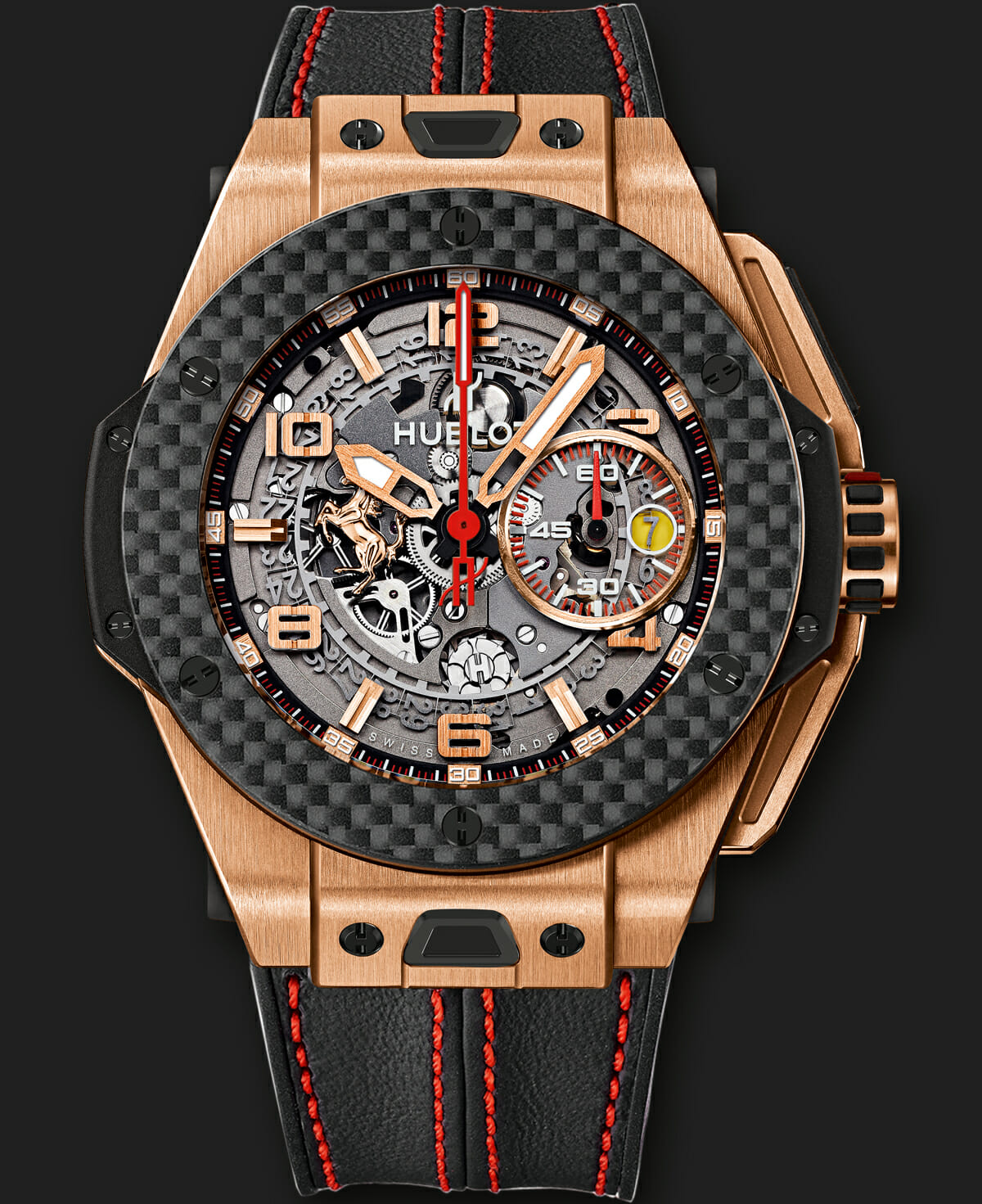 Hublot Big Bang Ferrari Collection Rubber B
