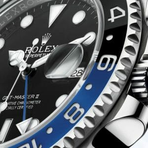 Rolex GMT Master II Oyster Case Dial