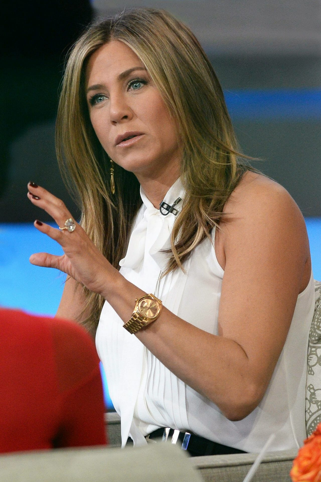 Jennifer aniston wearing her rolex rubber b for Celebrity wearing rolex watches