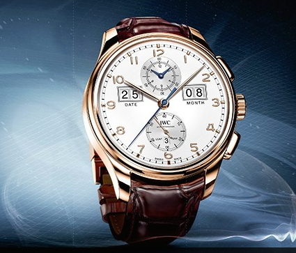 Portugieser Perpetual Calendar Digital Date-Month Edition 75th Anniversary RG:WT Side