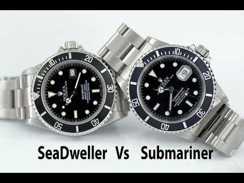 differences between cyclops Designed for those who enjoy spending time in the water, the rolex submariner and the rolex sea dweller are two exceptional timepieces that are most suited to aquatic activities however, despite this common trait between the two wristwatches, there are differences between them that consumers should keep in mind.