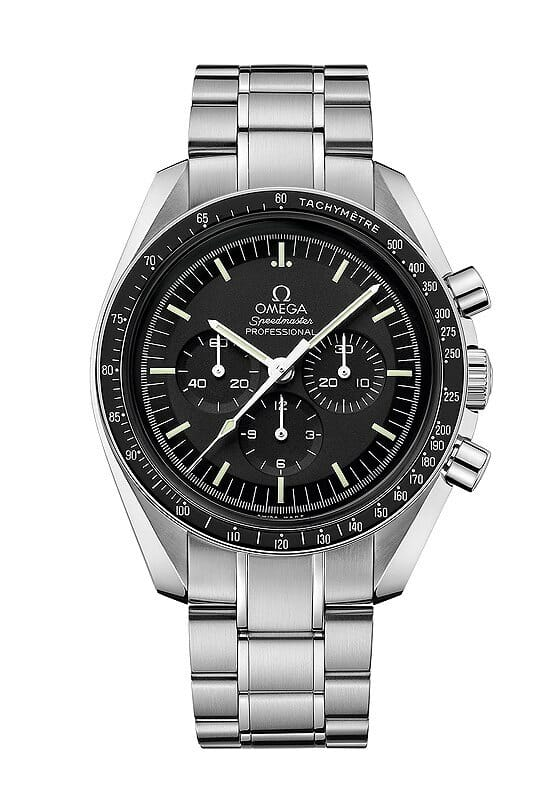 The Omega Speedmaster Professional Moon Watch Rubber B
