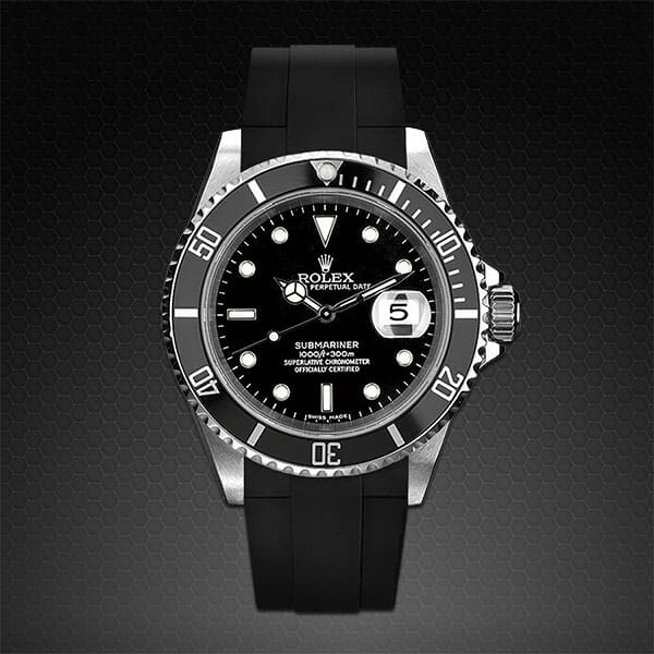 RUBBER B WATCHBANDS FOR ROLEX SUBMARINER