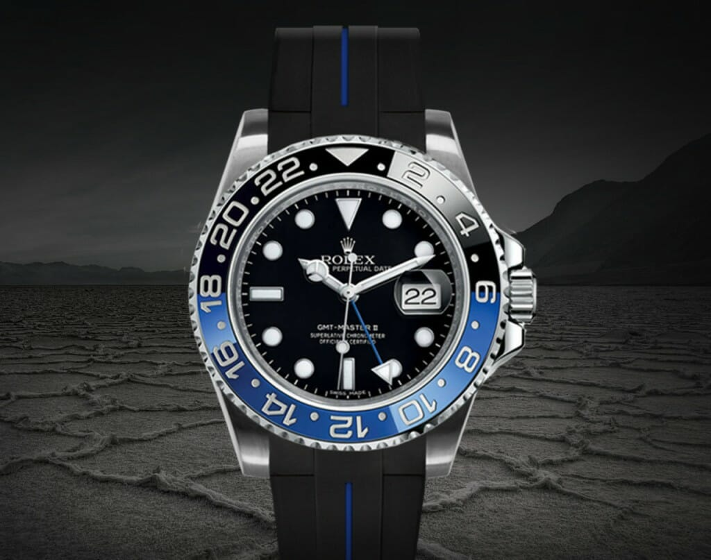 RUBBER B-VULCHROMATIC SERIES FOR ROLEX GMT MASTER II