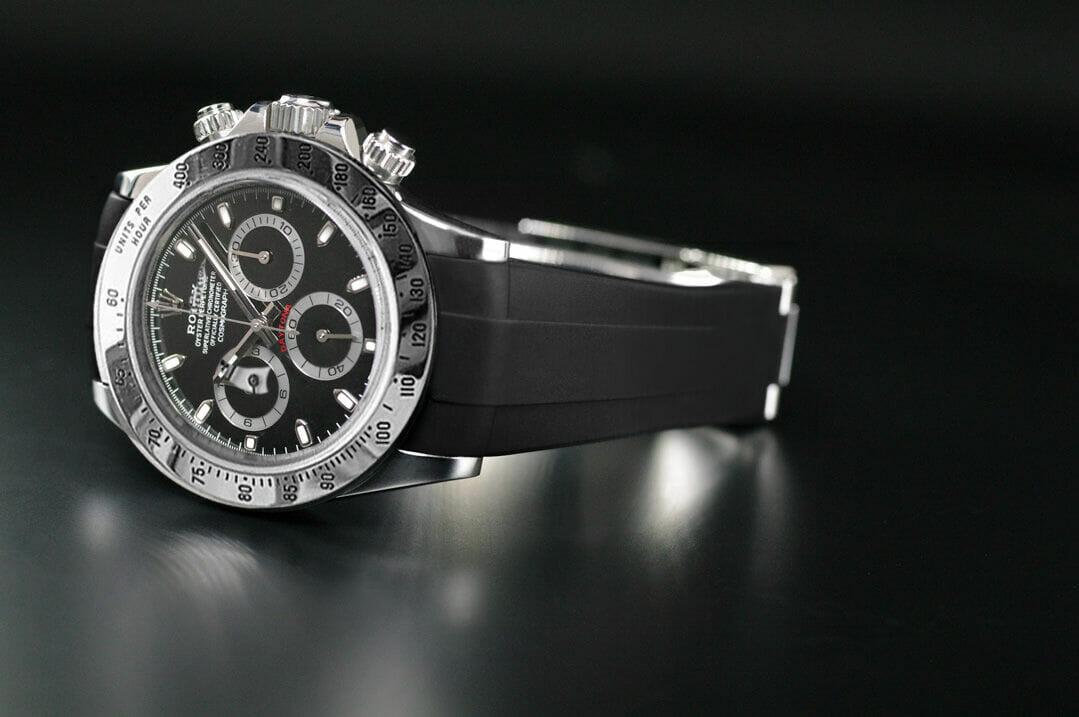 Rolex Rubber Strap for Stainless Steel Daytona