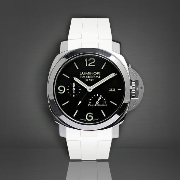 Photo of Arctic White Strap for Panerai Luminor 1950 44mm