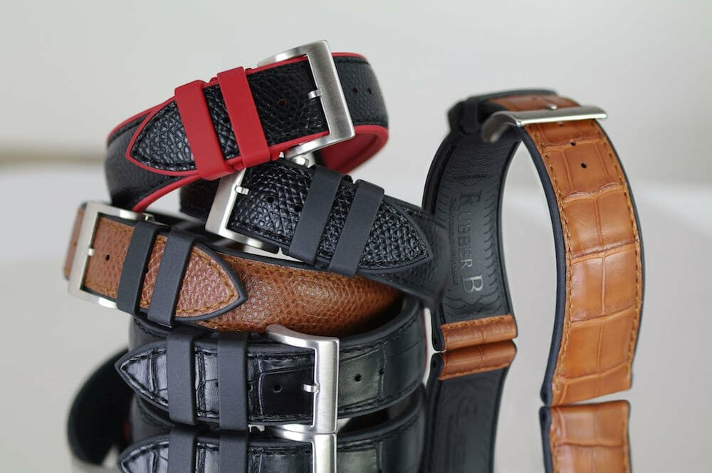 Photo of Genuine Leather Watch Straps from our Structure Series