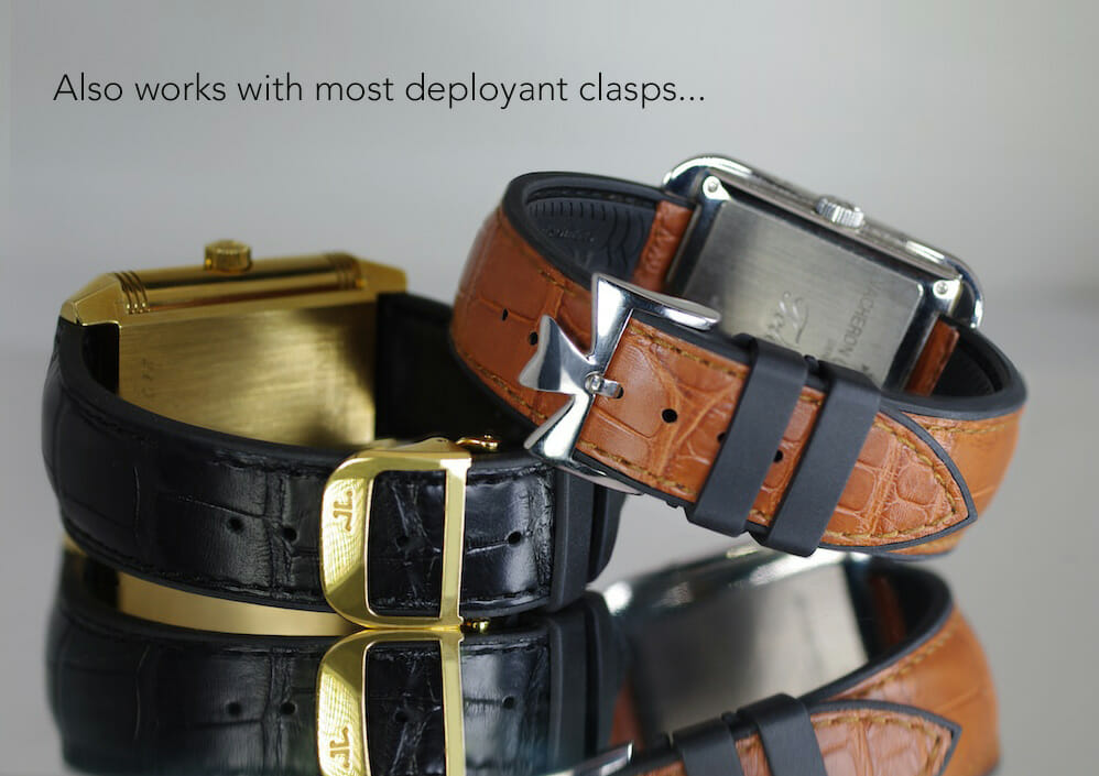 Photo of Genuine Leather Watchbands from our Structure Series