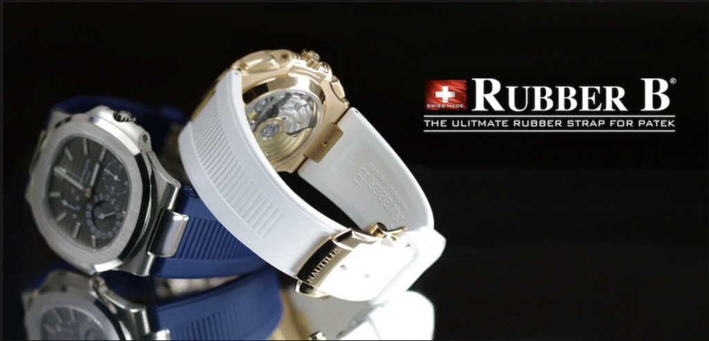 Photo of Rubber B Straps for Patek Philippe Nautilus Models