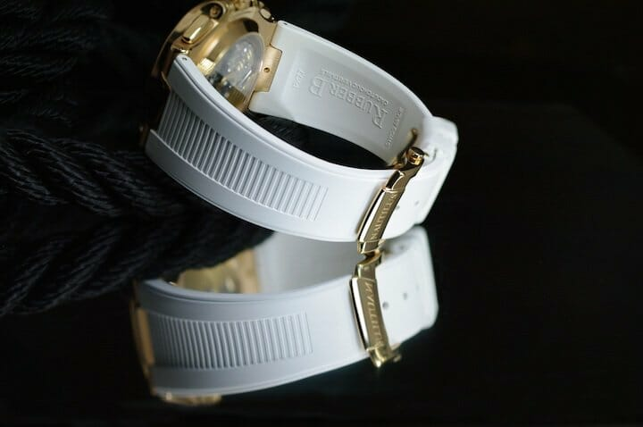 Arctic White Rubber B Strap for Patek Philippe Nautilus 5711