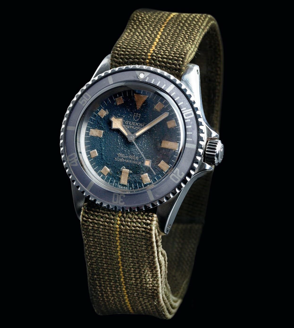 1977 Tudor Oyster Prince Submariner Marine Nationale Reference 9401