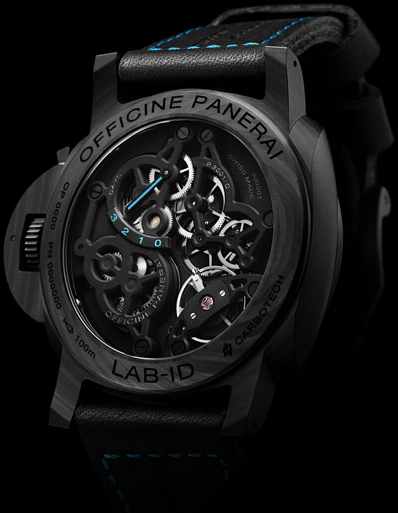 Case Back of Panerai Lab-ID Luminor 1950 Carbotech 3-Days (PAM00700)