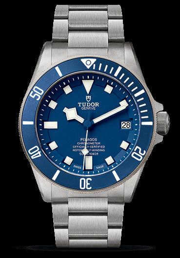 Tudor pelagos dive watch with titanium bracelet rubber b - Tudor dive watch ...