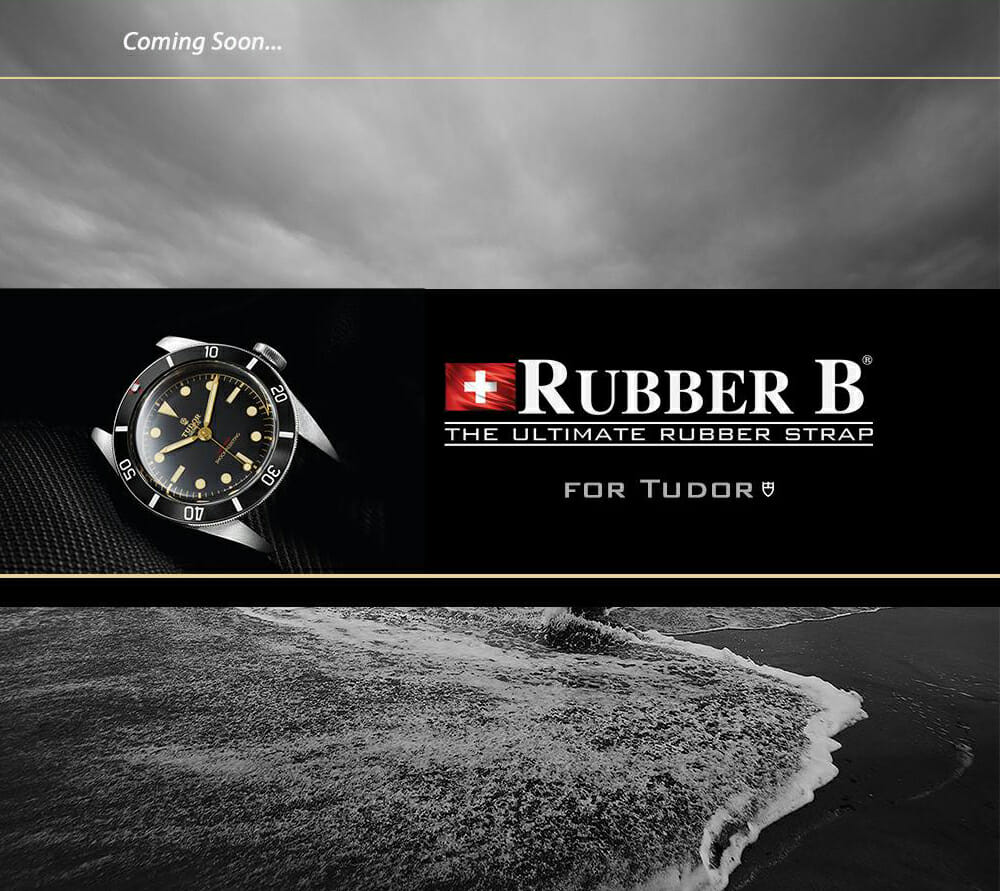 The Ultimate Rubber Strap for Tudor Watches