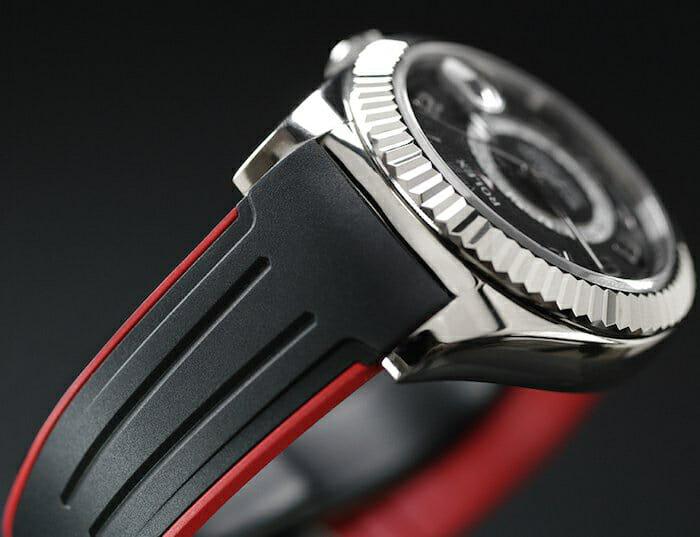 Swiss Made Rubber B Strap for Rolex Sky-Dweller