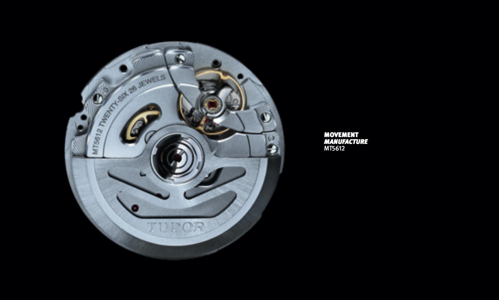 Tudor MT5612 Self-Winding Mechanical Movement