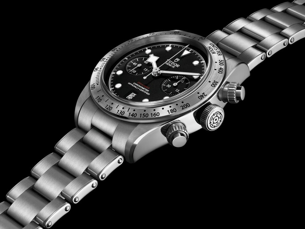 2017 Tudor Heritage Black Bay Chrono