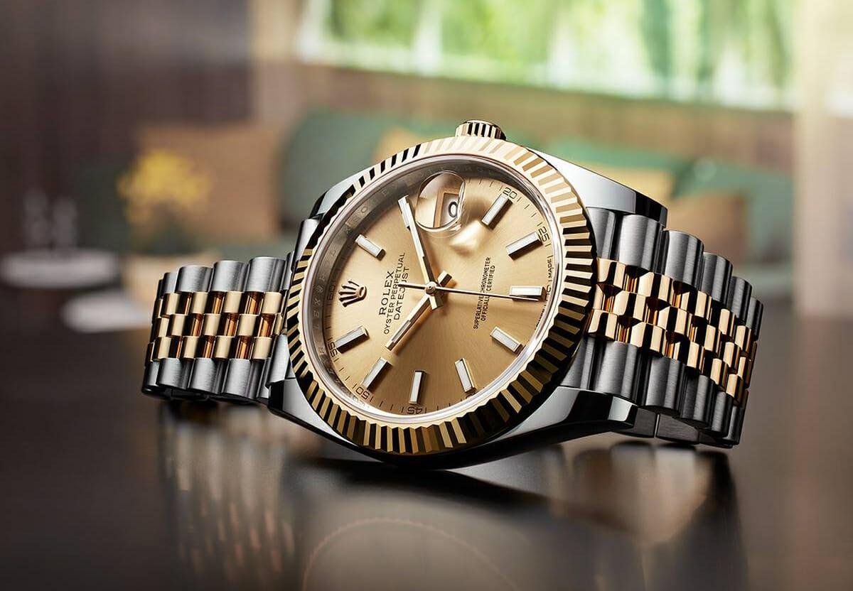 Two-Tone Rolex Datejust 41 on Jubilee Bracelet