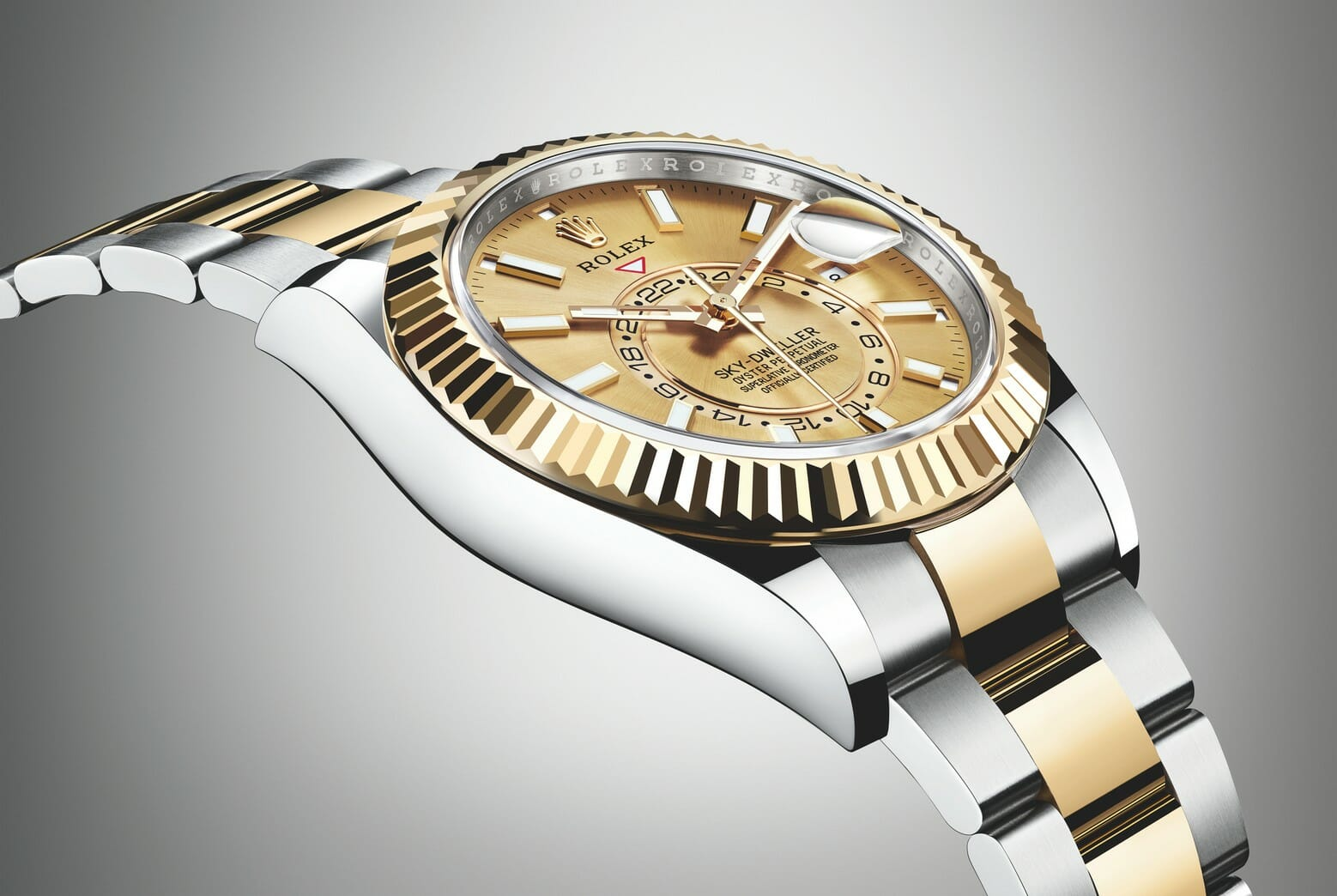 photo of 2017 Two-Tone Rolex Sky-Dweller