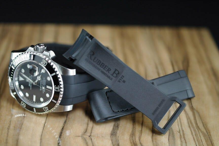 Velcro Series Rubber Strap for Rolex Submariner Ceramic