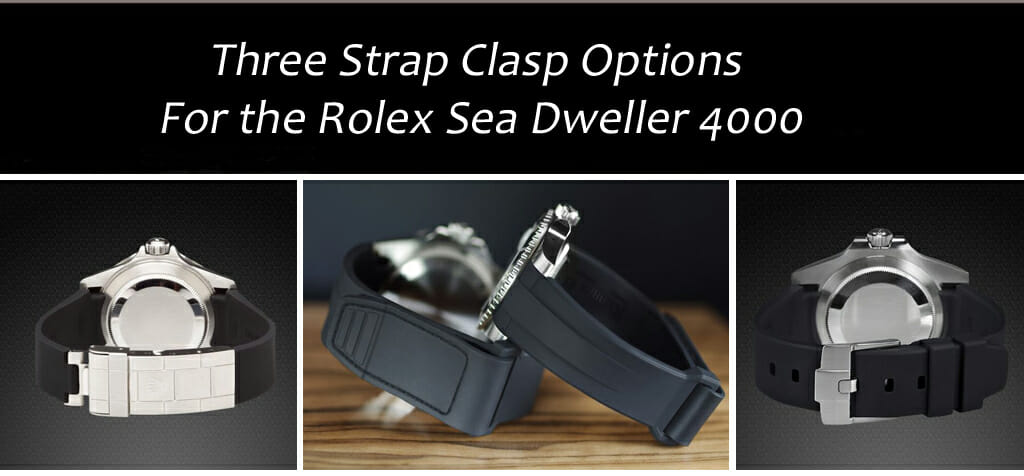 3 Replacement clasps for the Rolex Sea Dweller 4000