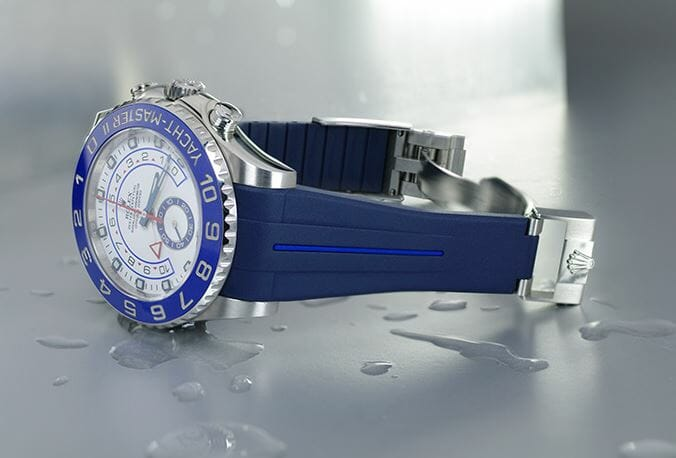 Rolex Yachtmaster 2 - 44 mm with blue watch band