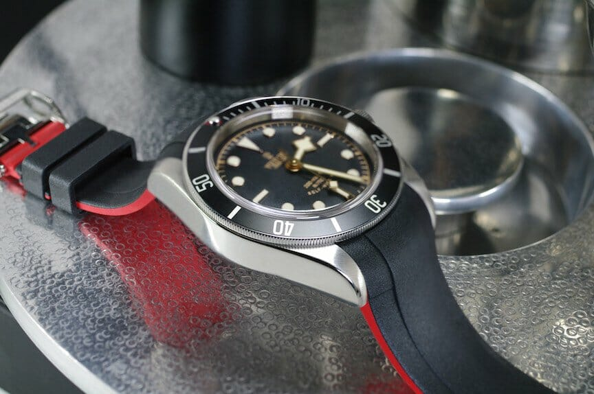 Black Wristband for the Tudor Heritage Black Bay Watch