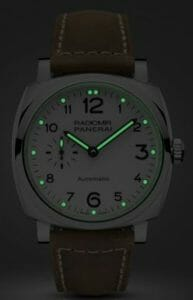 Panerai Radiomir 1940 - 42 mm night view