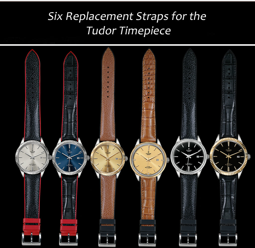 Replacement Leather Straps for Tudor Watches