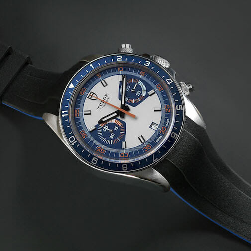 Replacement band for the Tudor Heritage chrono Reference: m70330b-0001