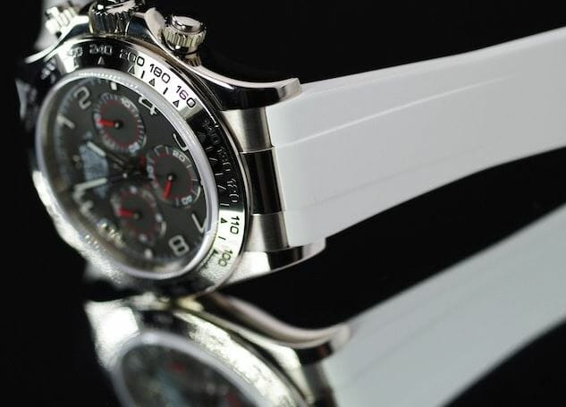 Replacement White Strap for Rolex Daytona