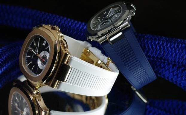 Blue and White Straps for the Patek Philippe 5980