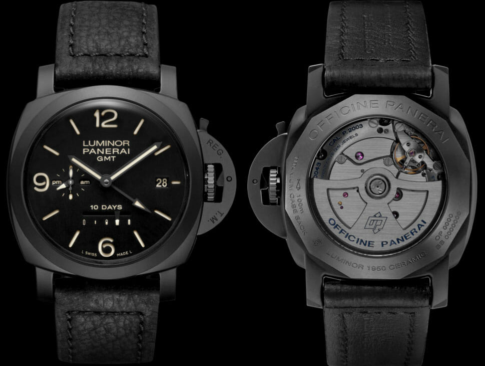 Panerai Luminor 1950 10 Days Automatic GMT Ceramica - 44mm Reference PAM00335