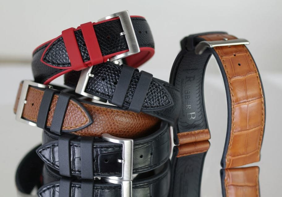 Rubber B watch bands for any season