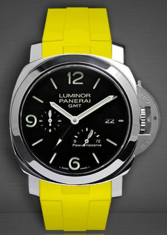 Officine Panerai Luminor 1950 8 Reference PAM00233 with Rubber B Strap