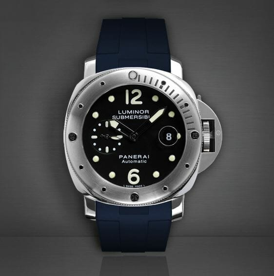 Blue Strap for Panerai Luminor Submersible 44mm