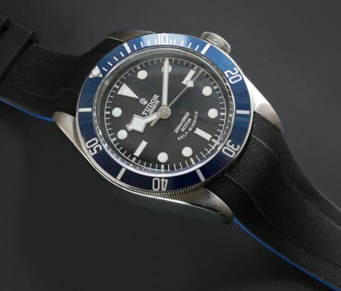Blue Strap for Tudor Heritage Black Bay - VulChromatic® Dual-Color