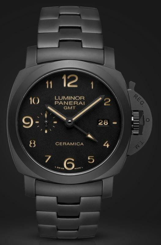 Panerai Tuttonero - Luminor 1950 3 Days GMT Automatic Ceramica - 44mm Reference PAM00438