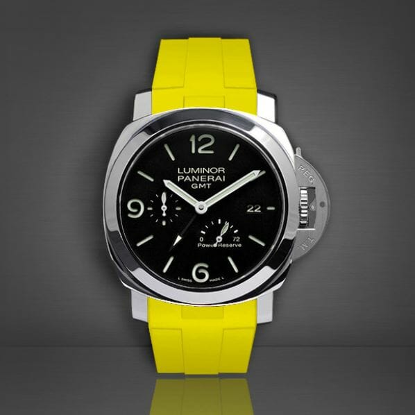 PAM 533 with Canary Yellow Band from Rubber B