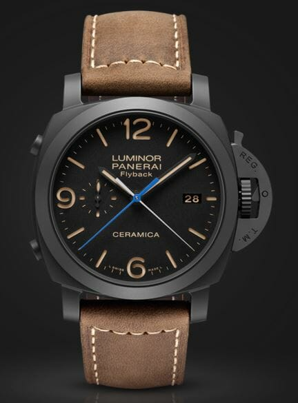 Panerai Luminor 1950 3 Days Chrono Flyback Automatic Ceramica - 44mm – Reference PAM00580