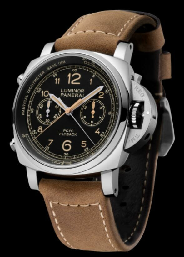 Panerai Luminor 1950 PCYC 3 Days Chrono Flyback Automatic Acciaio - 44mm– Reference PAM00653