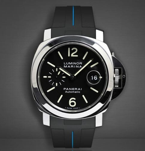 Panerai Luminor 44mm Vulchromatic Blue on Black